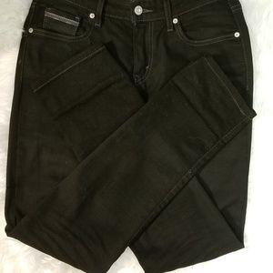 Black Levi Jeans Midrise Skinny